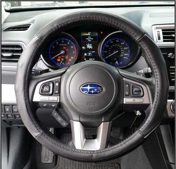 Steering Wheel Gray Thread