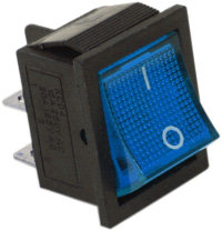 Square Blue Switch