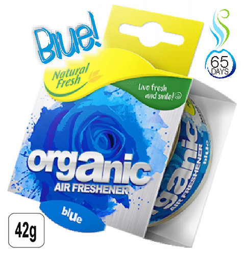 Organic Can Wrap Blue 42g