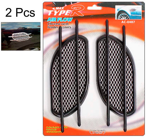 Air Flow 2 pcs Black