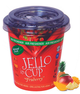 Jello In Cup Fruberry 130g