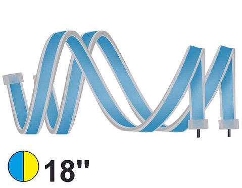 Sequential Headlamp LED Strip 45 cm Blue