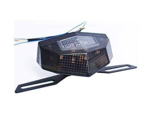 Motorcycle 6 LED blue brake Tail Light