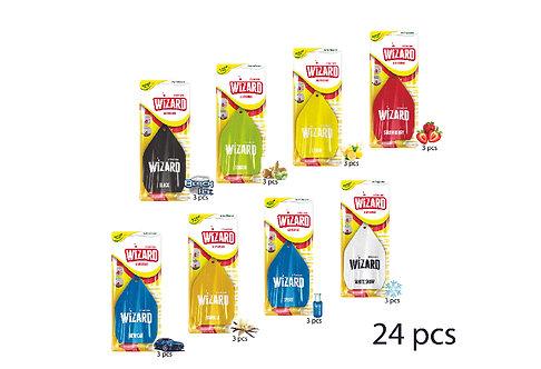 Cellulose Air Freshener 24 Pcs Strip Wizard