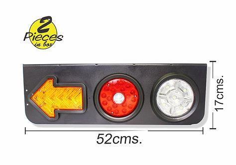 Stop Light Truck 16 LEDs 2 pcs
