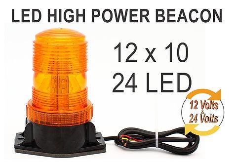 Rotating Light 30 LEDs 12x10 Yellow