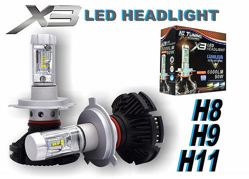 Headlight X3 H8H9H11