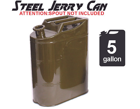 Metal Can Storage Container Spout 20L