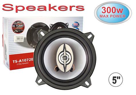 "Speakers 5"" 300W 2 Pcs"