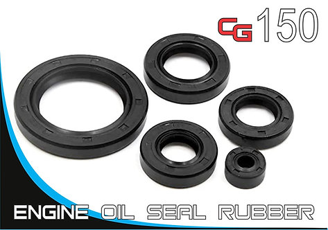 Motorcycle engine oil seal rubber CG150