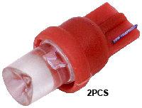 T10 1  Led (2Pcs)  Red