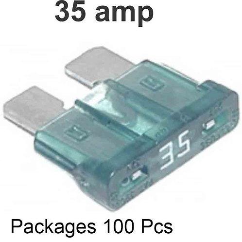 35 Amps Fuse 100 Pcs