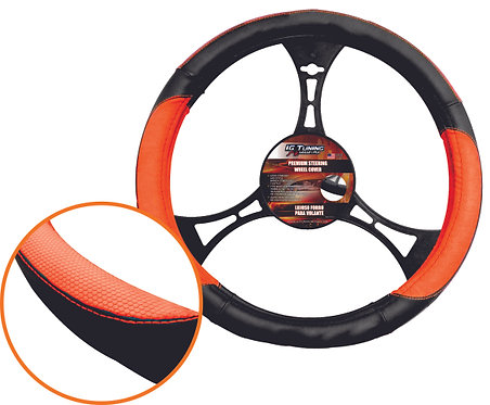 Steering Wheel Orange Thread