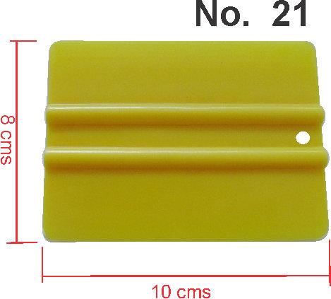 Plastic Spatula 10Cmx8Cm  No. 21
