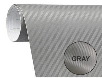 200x50 cm Gray Carbon Fiber Paper