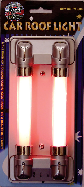 Neon Roof Lamp 2 tubes Red