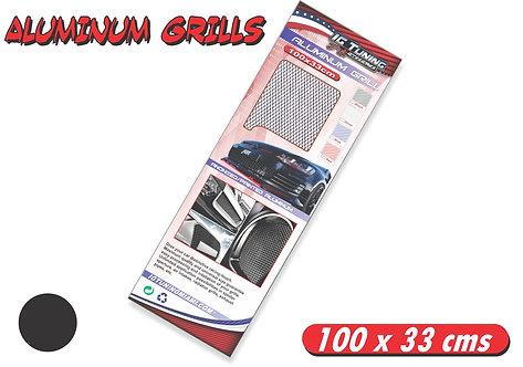 Aluminium Grill Black 100 x 33cms