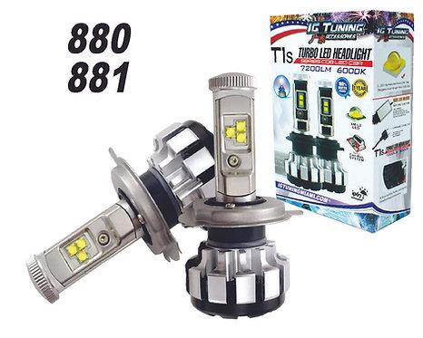 Headlight LED T1S 880-881