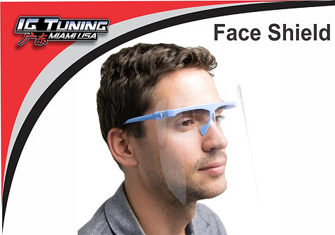 Face Shield Glasses Suport