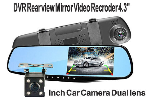 Windshield Camera w rear Camera