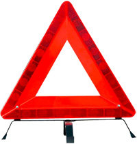 Special Car Safety Triangle