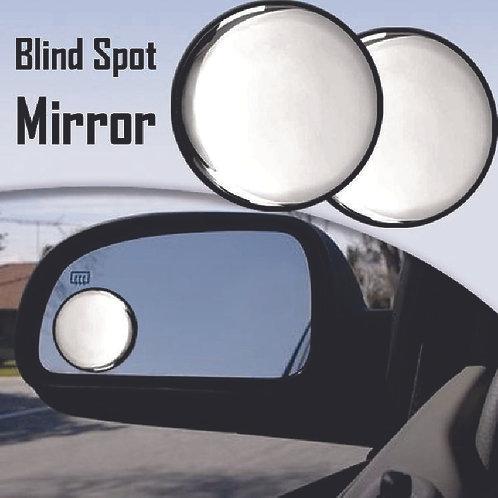 "3""  2Pcs, Fish Eye Blind Spot Mirror."