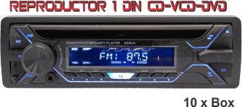 Auto Radio 1din CD-VCD-DVD