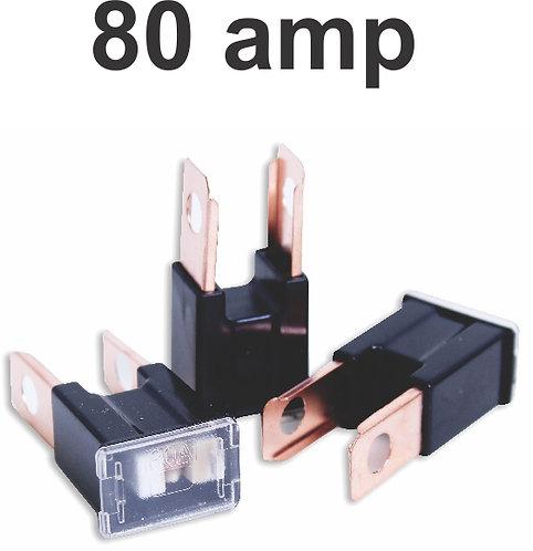 PAL Fuse 80 Amp Male 20 pcs