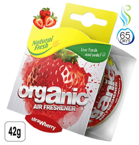 Organic Can Wrap Strawberry 42g