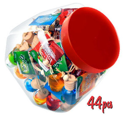 Scented Mini Bottle Jar 44 pcs