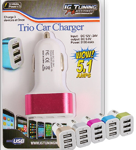 USB Charger 5.1 amps