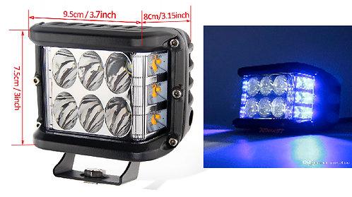 Moto LED two Colors White -Blue
