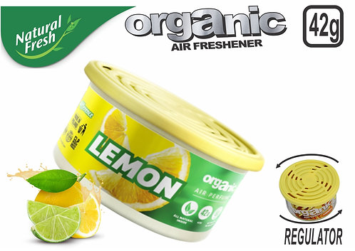 Organic Can Pure With Lid Lemon 42 G