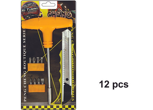 Kit Screwdriver and Cuter 12 Pcs