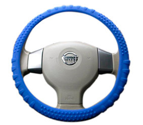Steering Wheel Silicone Blue