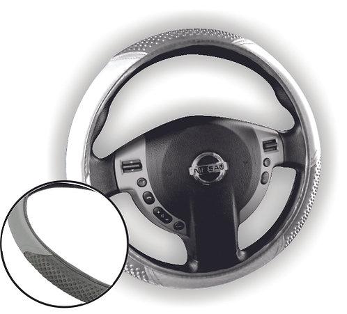 Economic Steering Wheel Cover Gray