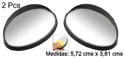 Fish Eye Sahpe Blind Spot 2Pc Mirror