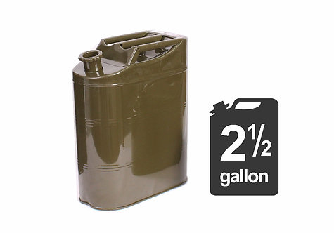 Metal Can Storage Container Spout 10L