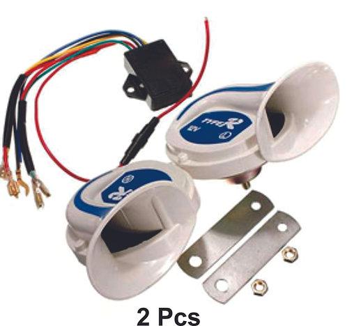 Double Shell Horn Faralao Electronic