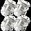 Thumbnail: Aluminum  4Pcs Set Valve Caps