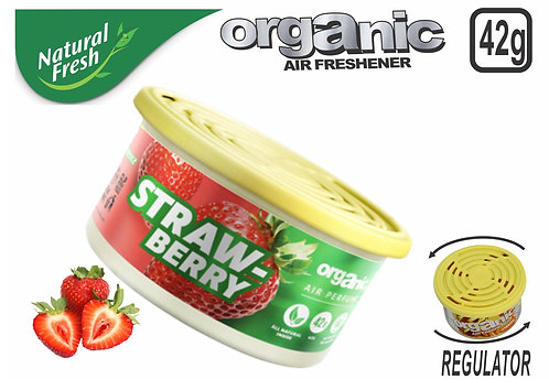 Organic Can Pure With Lid Strawberry 42G