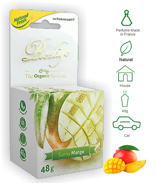 Prestige Organic Perfume 48g Mango