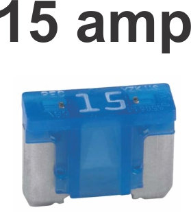 15 Amps Micro Fuse 100 Pcs