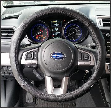 Steering Wheel Light Blue