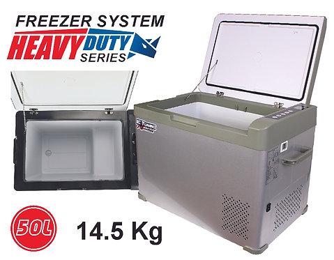 50L Car Refrigerator Portable Cooler 12V