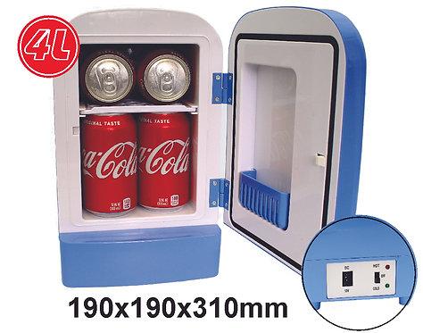 Mini Portable 4L Cooling Warming 12V Cooler