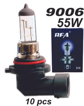 Bulb 9006 55W 10 Pcs