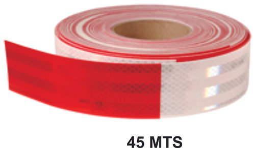 5Cm X 45Mts.Reflective 2 Color Ribbon