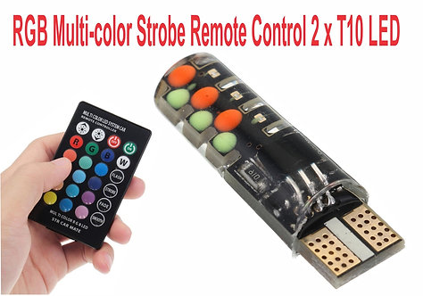 T10 LED 7 Colors with Control