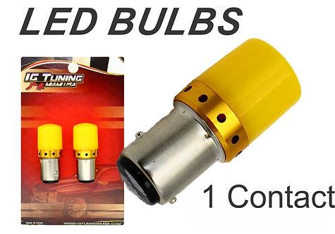 1156 LED Bulb 1W 2835 Yellow